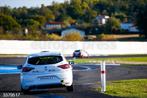 during the 4th round of the Renault Clio Cup España 2020, from October 16 to 18, 2020 on the Circuit d'Albi, in Albi, France - Photo Julien Delfosse / DPPI