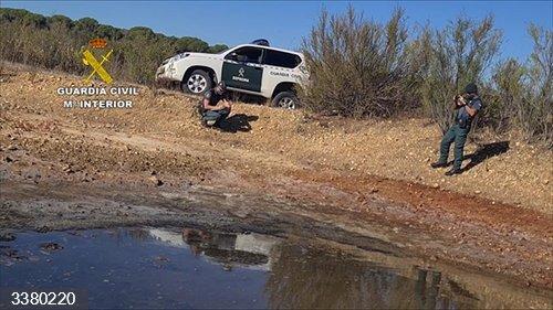 Huelva.- Sucesos.- Investigadas siete personas y localizados 22 pozos ilegales y once balsas irregulares en Doñana