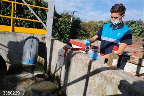 El estudio de coronavirus en aguas residuales llevado a cabo por la Comunidad equivaldría a
