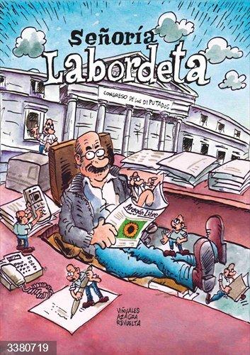 La Fundación José Antonio Labordeta presentará este lunes el cómic 'Señoría Labordeta'