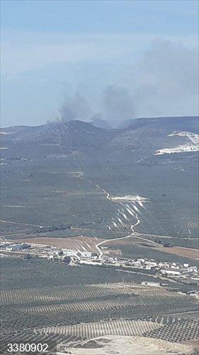 Sevilla.- Incendios.- Declarado un incendio forestal en un paraje de Estepa