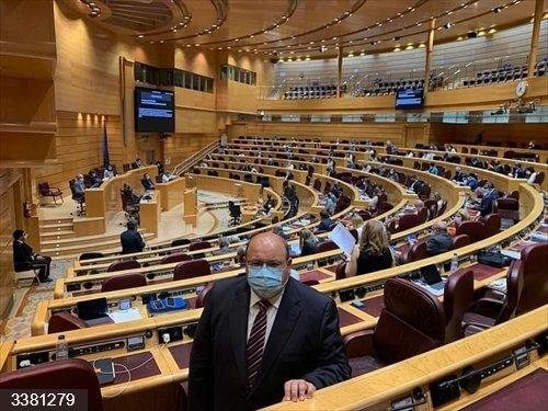 El senador José Robles (PP).<br>REMITIDA / HANDOUT por PP<br>Fecha: 18/10/2020.                 <br>Fotografía remitida a medios de comunicación exclusivamente para ilustrar la noticia a la que hace referencia la imagen, y citando la procedencia de la imagen en la firma