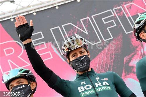 21 October 2020, Italy, Bassano del Grappa: Slovak cyclist Peter Sagan of team Bora-Hansgrohe is seen at the start of the 17th stage of the Giro d'Italia 2020 cycling race, 203 km from Bassano del Grappa to Madonna di Campiglio. Photo: Gian Mattia D'alberto/LaPresse via ZUMA Press/dpa