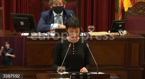 La portavoz del PSIB en el Parlament, Silvia Cano.<br>Fecha: 21/10/2020.