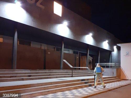 Desinfecciones en Cuenca<br>REMITIDA / HANDOUT por AYTO CUENCA <br>Fecha: 21/10/2020.                 <br>Fotografía remitida a medios de comunicación exclusivamente para ilustrar la noticia a la que hace referencia la imagen, y citando la procedencia de la imagen en la firma