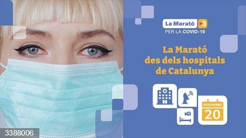 La Marató 2020, dedicada a la lucha contra el Covid-19, se vivirá en directo desde los principales hospitales de Catalunya.<br>REMITIDA / HANDOUT por TV3 <br>Fecha: 21/10/2020.                 <br>Fotografía remitida a medios de comunicación exclusivamente para ilustrar la noticia a la que hace referencia la imagen, y citando la procedencia de la imagen en la firma