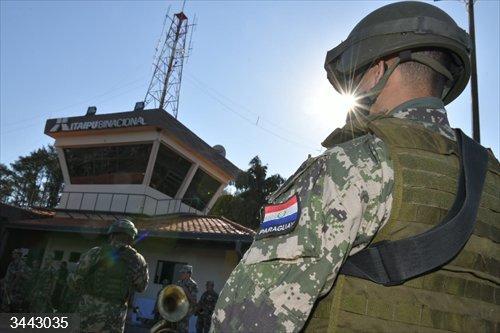 Un soldado en Paraguay<br>REMITIDA / HANDOUT por MINISTERIO DE DEFENSA DE PARAGUAY <br>Fecha: 21/11/2020.                 <br>Fotografía remitida a medios de comunicación exclusivamente para ilustrar la noticia a la que hace referencia la imagen, y citando la procedencia de la imagen en la firma